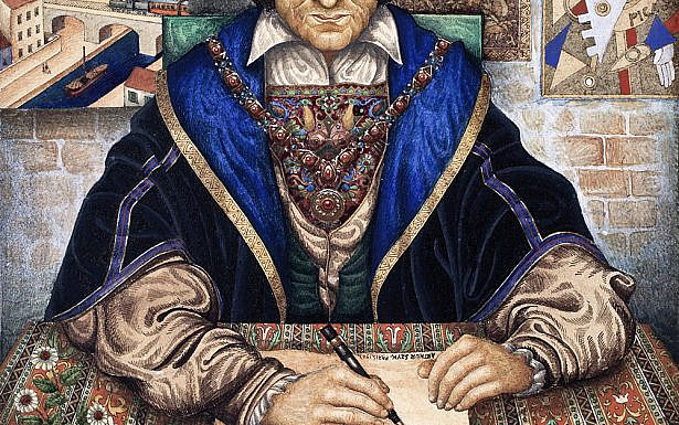 Arthur Szyk's The Scribe/Wikimedia Commons