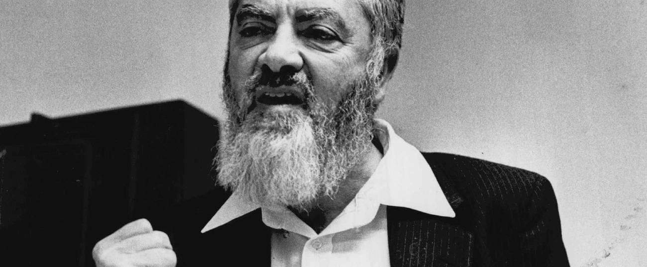 Meir Kahane 1991 Denver Post/Getty Images
