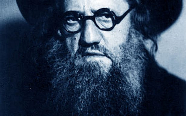 Rabbi Ya'akov Moshe Charlap courtesy of Harvard University Library/Wikimedia