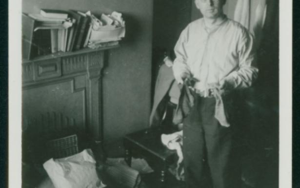 Joseph G. Weiss at home in Leeds.
