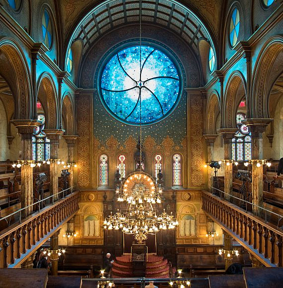 Eldridge Street Synagogue, New York 2018