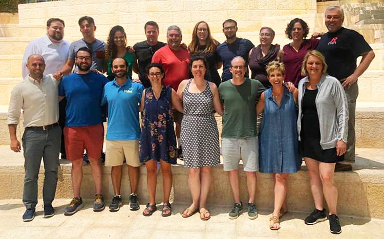 Hartman Fellowship for Hillel Professionals Cohort VII - Jerusalem, July 2019