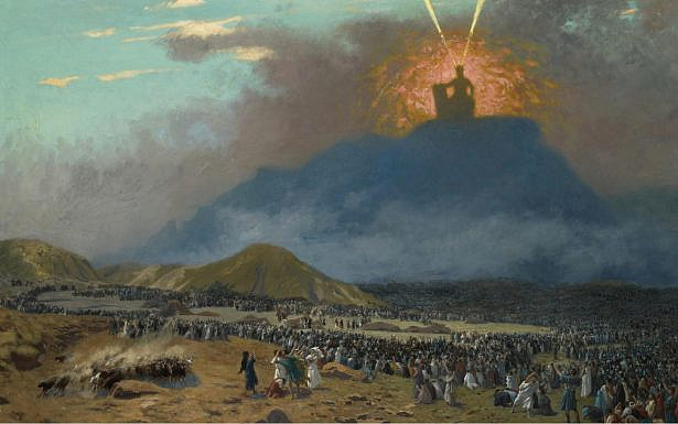 Moses on Mount Sinai, painted circa 1895-1900, by Jean-Léon Gérôme. (Wikimedia Commons)