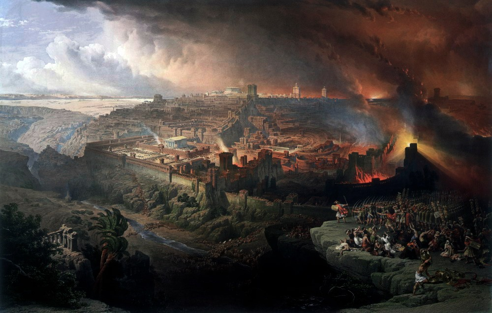 Siege and destruction of Jerusalem by David Roberts