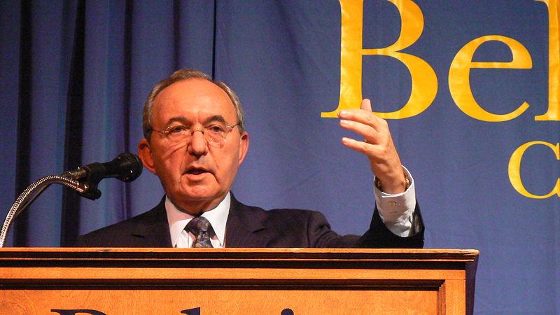 """השופט גולדסטון שעמד בראש ועדת החקירה לפעולות צה""""ל במבצע עופרת יצוקה. צילום: ויקיפדיה"""
