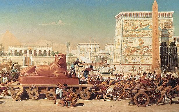 Israel in Egypt (1867 painting by Edward Poynter), wikimedia