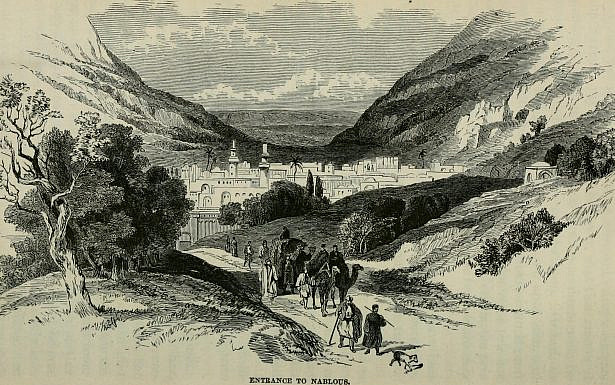 הר גריזים והר עיבל, מתוך ויקיפדיה