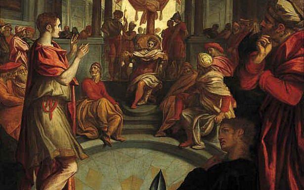 Anthonie van Blocklandt - Joseph interpreting Pharaoh's dream, wikimedia