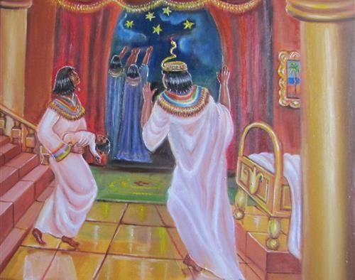 פרשת בא, ציור אהובה קליין
