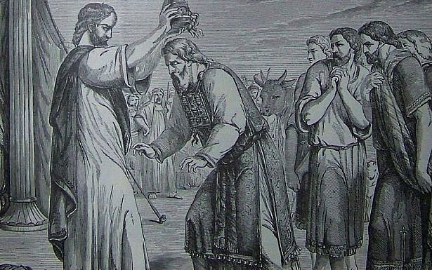 Holman Consecration of Aaron and His Sons, Wikipedia