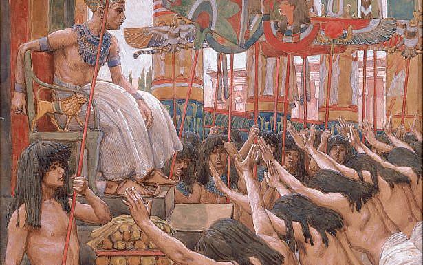 יוסף במצרים, ציור מאת ג'יימס טיסו, ויקיפדיה