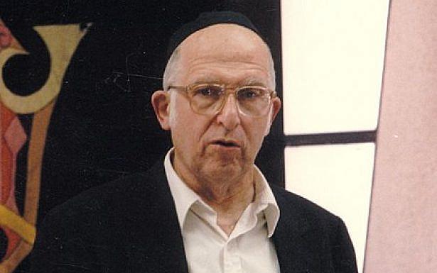 הרב אהרון ליכטנשטיין, מלמד בישיבת הר עציון. צילום: ויקיפדיה, ישיבת הר עציון