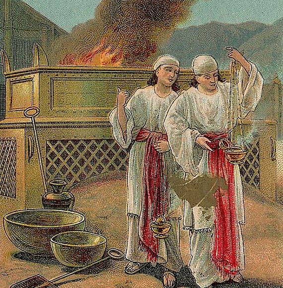 The Sin of Nadab and Abihu, Wikipedia