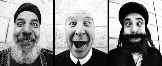 פרויקט פנים אל פנים: השילוש הקדוש. צילום: JR, ויקיפדיה