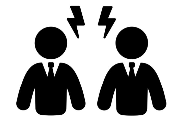 התיוג של הזולת כבלתי ,לגיטימי סותם את אוזניו  של המתייג מלהאזין לאפשרות האחרת. Created by Adrian Coquet from Noun Project
