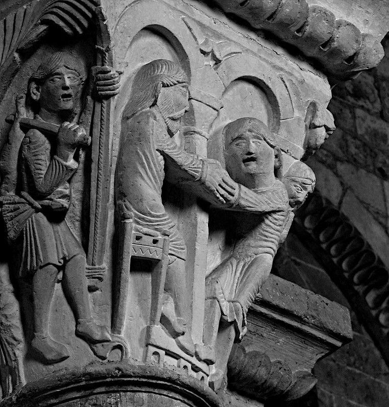 ברכת יצחק ליעקב Basilique de Marie Madeleine, Vézelay