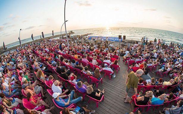 תפילה המונית בנמל, בית תפילה ישראלי