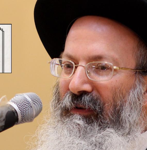 הרב אליעזר מלמד וגילוי הדעת שיצא כנגדו. צילום מתוך ויקיפדיה