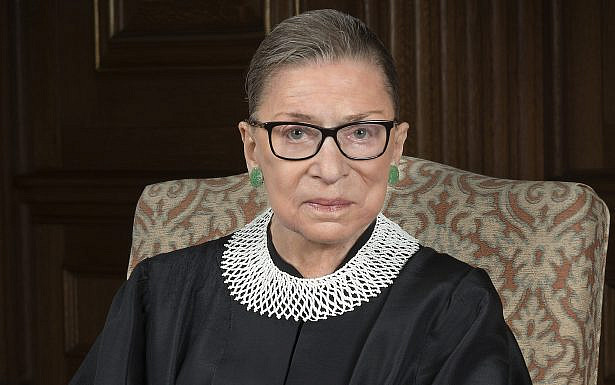 Ruth Bader Ginsburg 2016 portrait, , United States federal court, Wikimedia