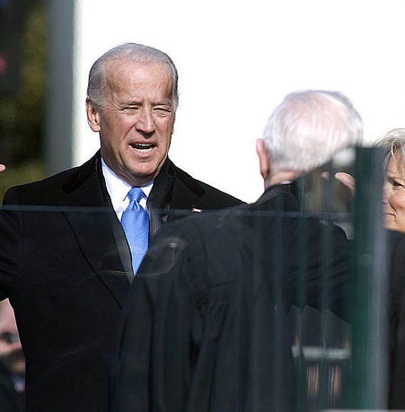 "השבעת ג'ו ביידן לתפקיד סגן נשיא ארה""ב 2009, צילום: U.S. federal government"