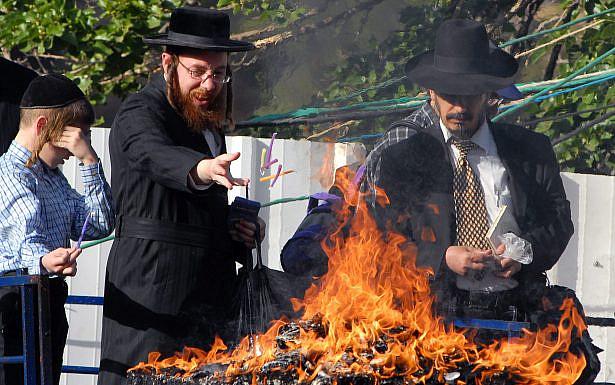 """חגיגות ל""""ג בעומר בהר מירון, צילום: מרק היימן, לע""""מ"""
