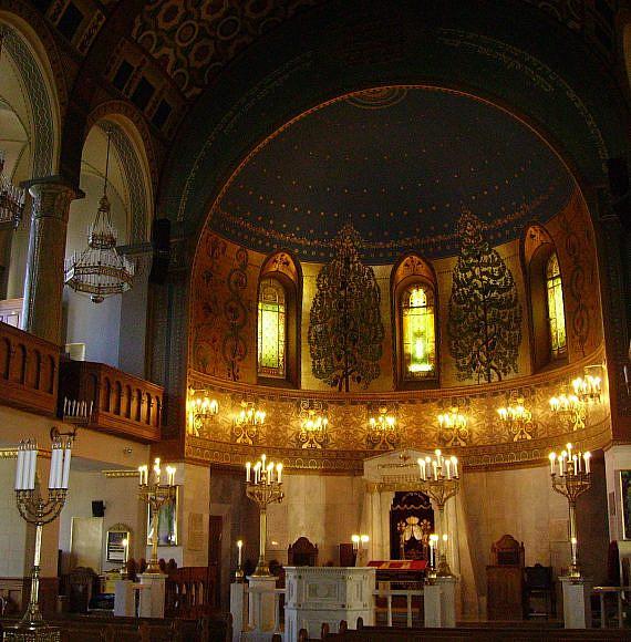 בית הכנסת הכוראלי במוסקבה (צילום: יאיר חקלאי, ויקיפדיה)
