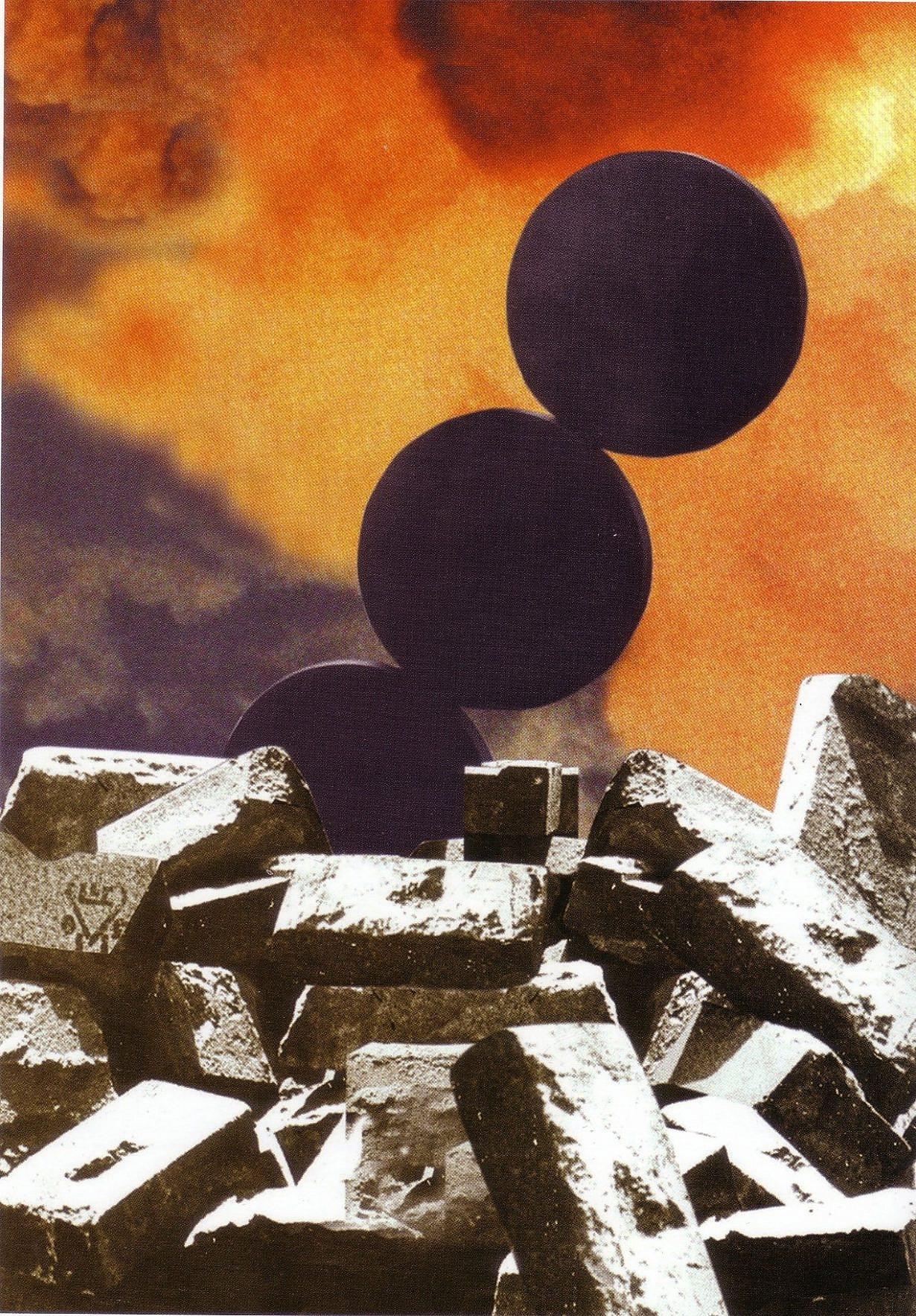 דוד טרטקובר, התרוממות, 1996, הדפס דיגיטלי