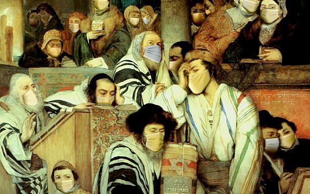 אייל גור, תפילה ביום הדין (בעקבות מאורצי גוטליב, 1878), 2021.  עיבוד ממוחשב, D3