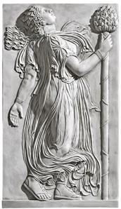 כוהנת רומית לאל בכחוס רוקדת עם תירסוס